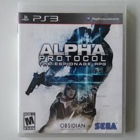 Alpha Protocol The Espionage Rpg Ps3 Mídia Física Usado