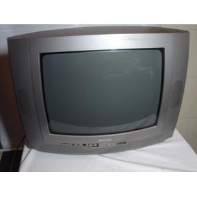 Tv De Tubo Phillips 14