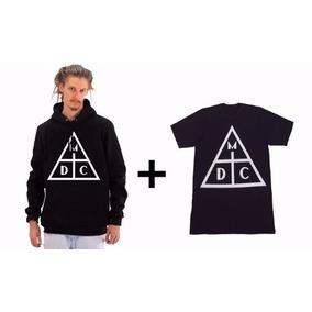 Kit Casaco Moletom + Camiseta - Dmc Damassa Clan Haikaiss ce2a41a7d94
