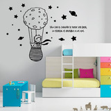Vinil Decorativo Pared Frase El Principito