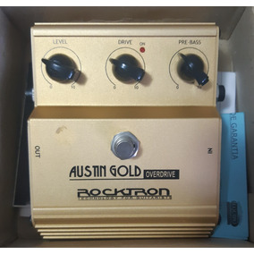 Pedal Rocktron Austin Gold OverdriveCom Caixa E Manuais!