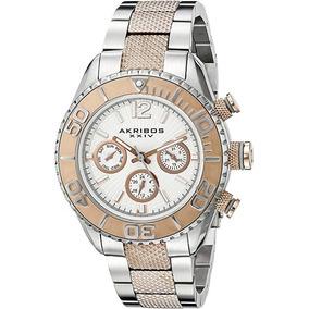 24a37306f46 Akribos Relógio Gigante Mod Xxiv - Relógios De Pulso no Mercado ...