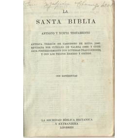 La Santa Biblia, Antiguo Y Nuevo Testamento