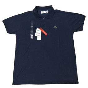 295af63120a55 Camisas Polo Lacoste Azul Marinho Frete Gratuito - Pólos Masculinas ...