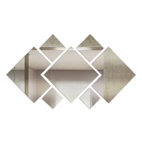 Espelho Decorativo Grande Acrilico 100 Cm X 56 Cm 7 Peças