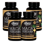 Kit 4 Maca Peruana Premium Pura - Original 480 Cápsulas