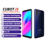 Cubot J3 3g Telefone Móvel Face Id 1g/16gb Azul