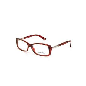 Armação Oculos Grau Versace Ve3248 989 54 Vermelho Havana. Rio Grande do  Sul · Óculos De Grau Feminino Acetato Versace Vermelho 2b40a3f8b7