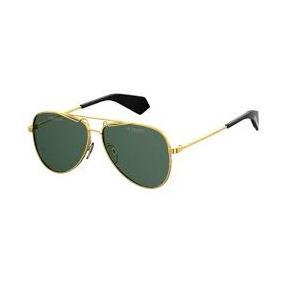 Oculos De Sol Masculino Haste Dourada Polaroid - Óculos no Mercado ... ff1fdf8a7e