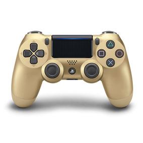 Controle Sem Fio Ps4 Dualshock 4 Dourado
