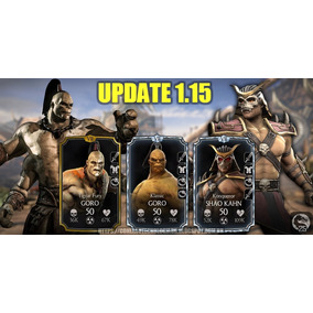 Personagens Mortal Kombat X - Android Menor Preço