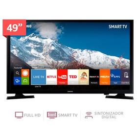 Televisor Smartv De 49 Pulgadas Full Hd Un49j5200a Samsung