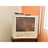 Televisión Samsung Con Lector Vhs Y Dvd Incluidos