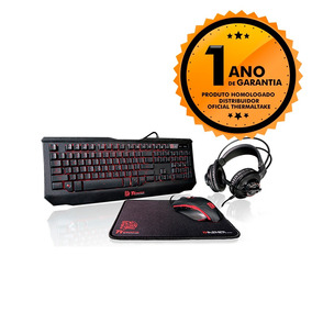 Kit Gamer Teclado+mouse+mousepad+headset Gaming Thermaltake