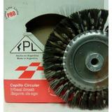 Cepillo Circular De Acero Trenzado 175mm Fpl d2351a0e58e2