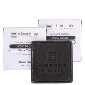 Kit Elemento Mineral Argila Negra (3 Produtos) Blz