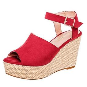 2afb1e5cba9 Zapatos Lady Paulina Para Dama Rojos - Sandalias y Ojotas de Mujer ...