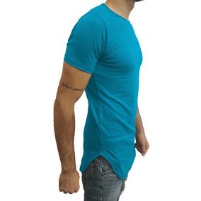 64339af2ed7a3 Camisa Camiseta Long Masculina Swag Oversized Longline