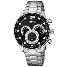 966d36b4ba6a Reloj Lotus 15742 6 Hombre Acero Inoxidable Cronografo - Relojes ...