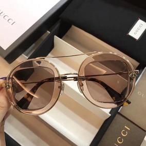 af9340430fd9a Oculos Feminino Amarelo De Sol Gucci - Óculos no Mercado Livre Brasil