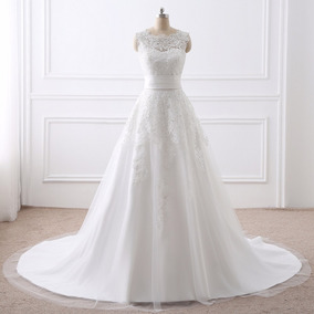 Vestido De Noiva Casamento 2 Em 1 Dois Em Um Pronta Entrega