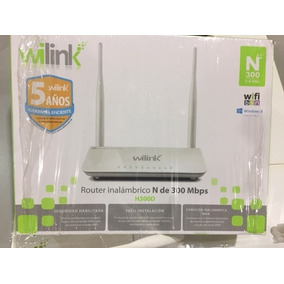 Router Wilink H300d N300 2.4 Ghz 2 Antenas