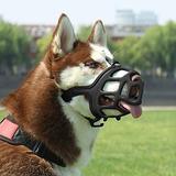 Shunai Dog Muzzle Rubber Basket Bozales Para Smallmediumlarg