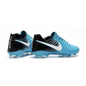 Chuteira Campo Nike Tiempo Legend Iv Azul preto - Firmino 77d4fb93d685d