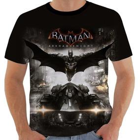 2e370baf6 Camiseta Gw Batman Arkham Jogo Playstation Xbox Aventura