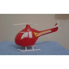 Helicóptero Plastico Bolha