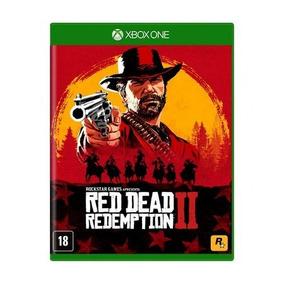 Red Dead Redemption 2 Xone Mídia Física Lacrado Pronta Entre