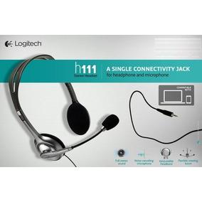 Auricular Con Microfono Pc Logitech H111 Envio Gratis