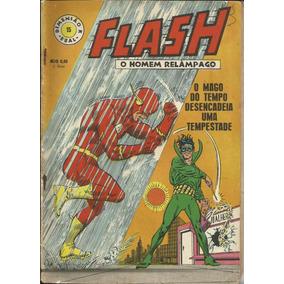Hq Flash O Homem Relâmpago 68 (1ª Ebal) Nº 15