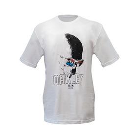Camisa Camiseta Rave Oakley Verão Caveira Óculos Lançamento 9cba4cb99fe
