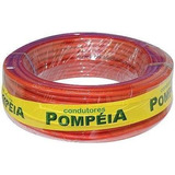 Fio Cabo Positivo Pompeia 21mm 25 Metros 100% Cobre