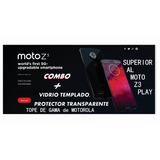 Motorola Moto Z3- No Play -tope De Gama - Templado Y Protect