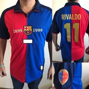 4c5519658adef Barcelona Centenario Rivaldo - Camisetas en Mercado Libre Argentina