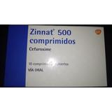 Antibiótico Betalactámico. Zinatt 500 Mg 10 Comprimidos