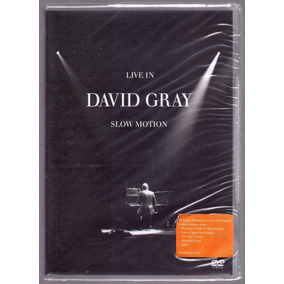 Dvd David Gray Live In Slow Motion Lacrado Cr. Registr 10