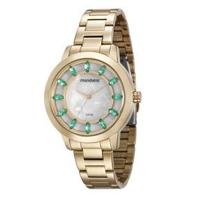 1331e13cac0 Relogio Feminino Mondaine Com Cristais - Relógios De Pulso no ...