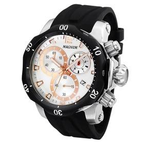 f1bcbdef119 Relógio Magnum Masculino Ma33755s Original Loja Fisica por Cheiro de Música