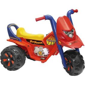 Triciclo Fox Gf 6v Vermelho Biemme