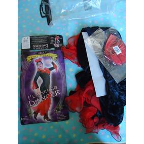 Vestido fantasia Espanhola Dança Flamenca Tamanho P m f9ba9dd64a6