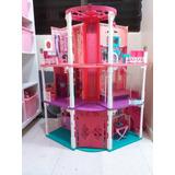 Casa Barbie Con Accesorios Y Barbies