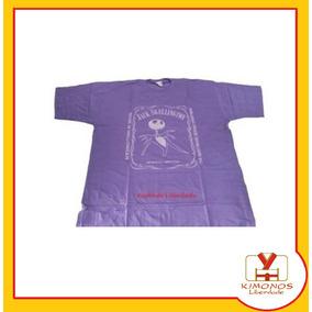 Camiseta Jack Skellington - Lilás