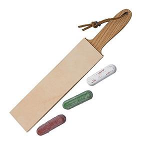Piel Paddle Strop 2inch De Doble Cara De Ancho Y 3compuest