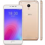 Smartphone Meizu M6 Dourado, Tela 5,2, 3gb Ram, 32gb, Dual