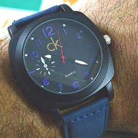 Relógio Calvin Klein Clássico Preto Fundo Preto. R  130. 12x R  12. Frete  grátis 22d5f98330