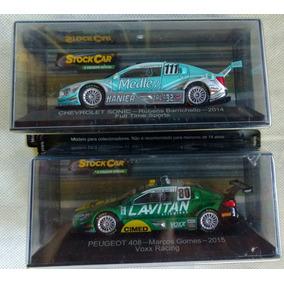 Miniaturas Stock Car 2 Unidades (barrichello E Marcos Gomes)