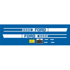 Adesivos Ford 6600